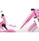 Volare Rose 16 inch meisjesfiets roze / wit