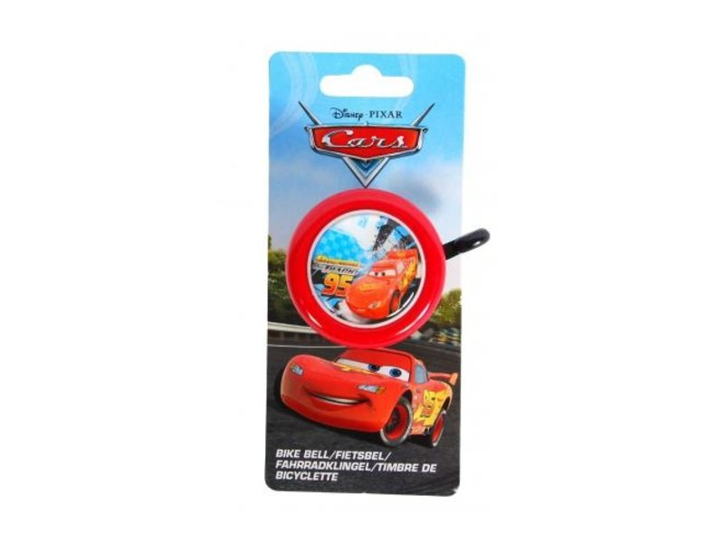 Disney Cars Fietsbel rood