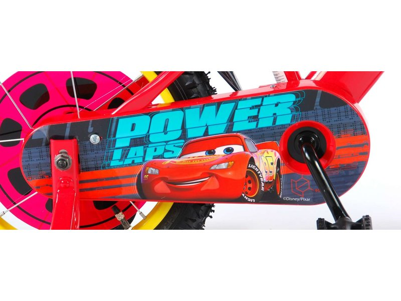 Disney Cars 3 14 inch jongensfiets rood