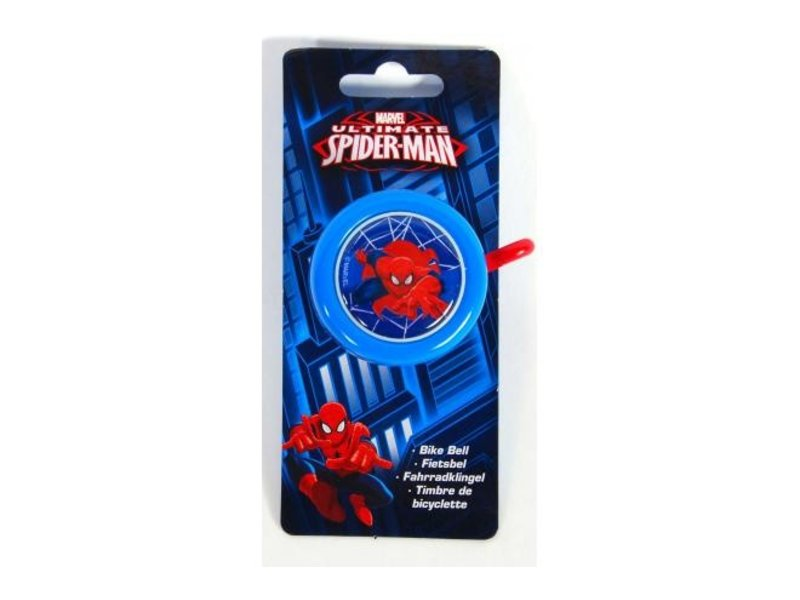 Ultimate Spider-Man Fietsbel blauw rood