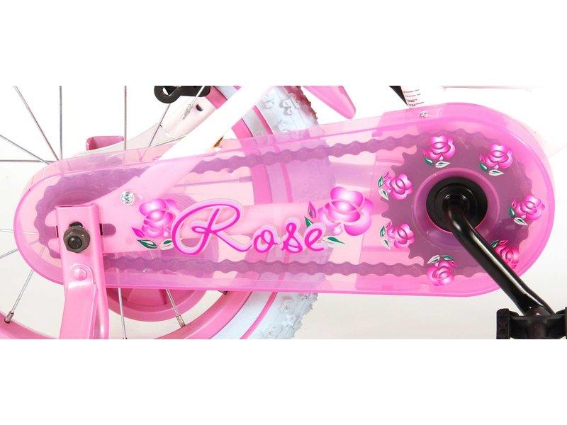 Volare Rose 14 inch meisjesfiets wit