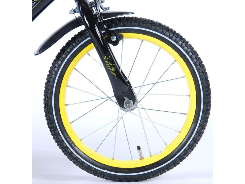 Volare Freedom 16 inch jongensfiets geel zwart