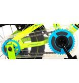 Volare Electric Green 12 inch jongensfiets twee handremmen groen