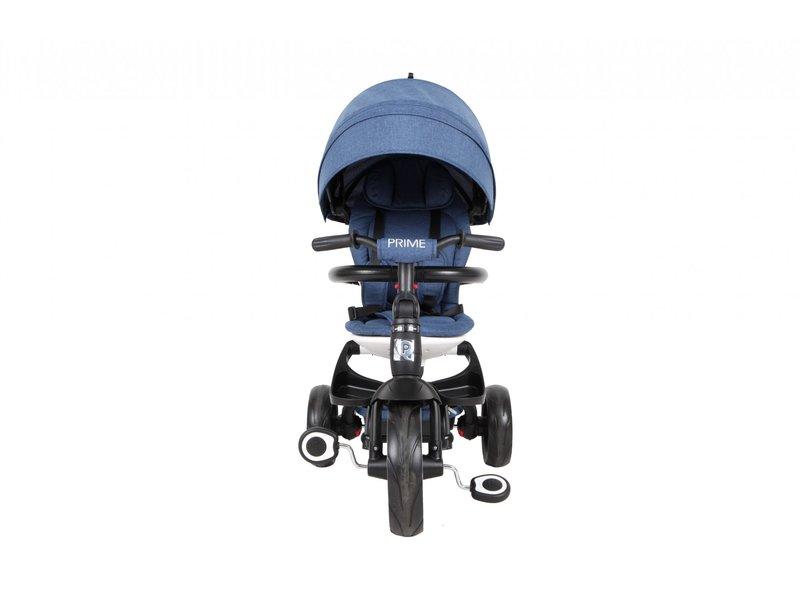 Q-Play Driewieler Prime 4 in 1 driewielers blauw