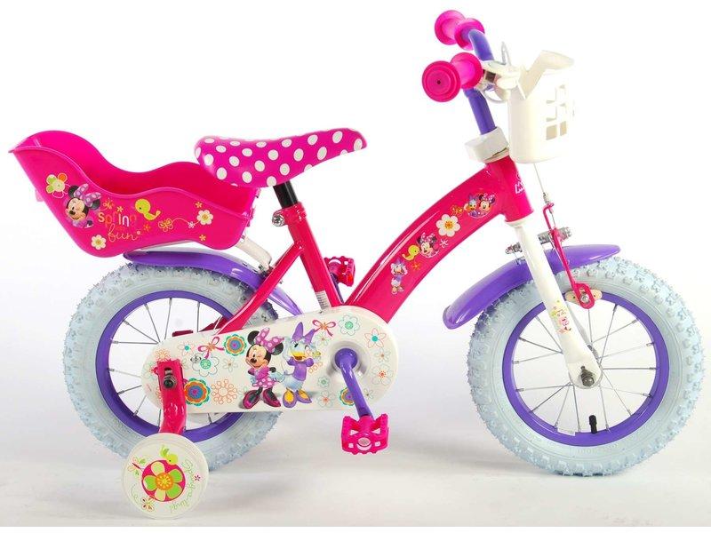 Disney Minnie Bow-Tique 12 inch meisjesfiets roze / paars