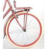 Salutoni Excellent Stadsfiets Oud 28 inch meisjesfiets oud roze