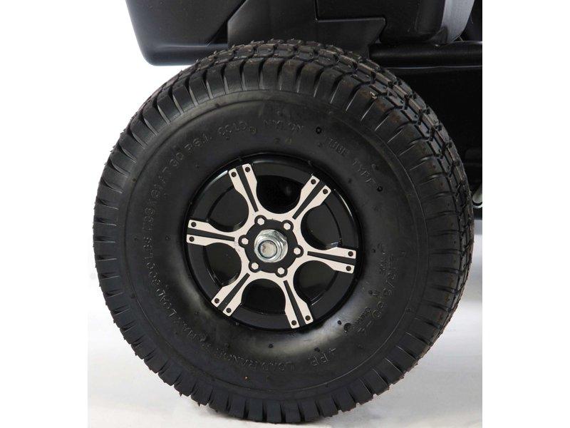 Volare Go Kart Racing Car Groot Luchtbanden grijs zwart