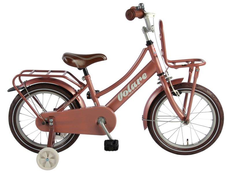 Volare Excellent Oud 16 inch meisjesfiets oud roze