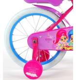 Shimmer & Shine 16 inch meisjesfiets roze