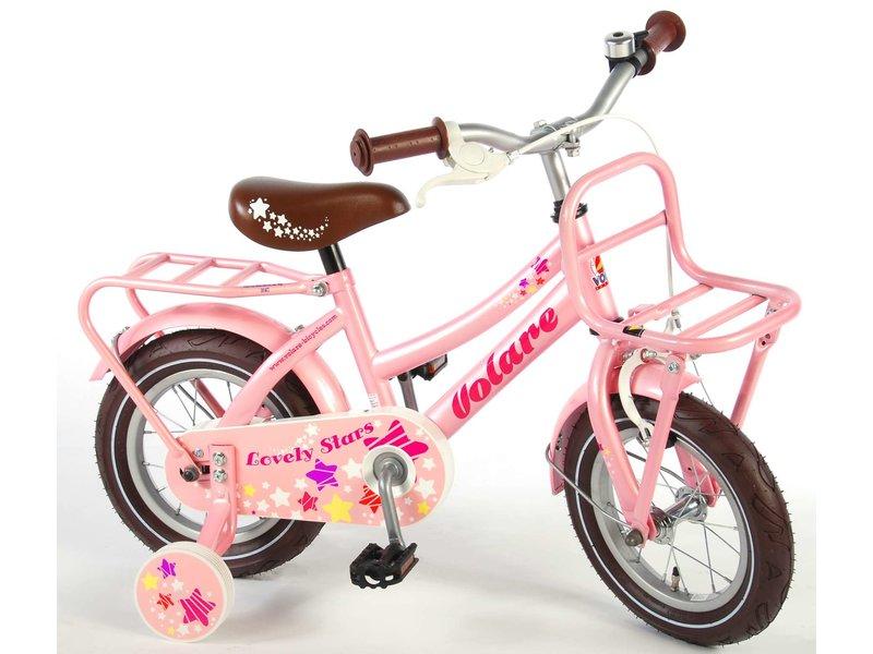 Volare Lovely Stars 12 inch meisjesfiets roze