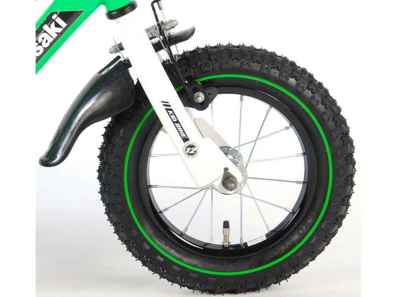 Kawasaki 12 inch jongensfiets groen