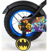 Batman 12 inch jongensfiets zwart