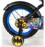 Batman 14 inch jongensfiets zwart