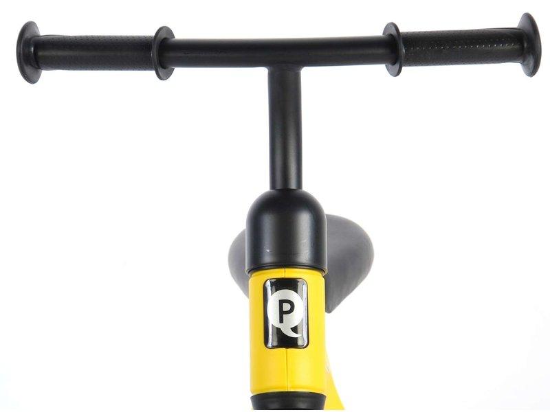 Q-Play Tech 10 inch loopfiets geel