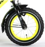 Volare Thombike Neon 12 inch jongensfiets geel zwart