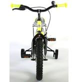 Volare Thombike Neon 14 inch jongensfiets neon geel