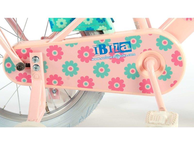 Volare Ibiza 16 inch meisjesfiets roze