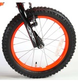 Volare Motorbike 16 inch jongensfiets oranje