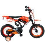 Volare Motorbike 12 inch jongensfiets oranje