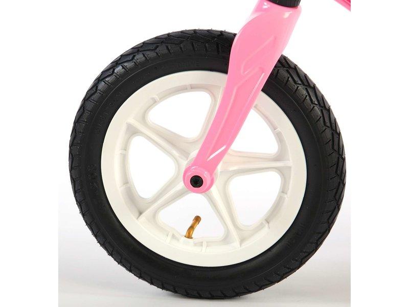 Volare Magnesium 12 inch loopfiets roze