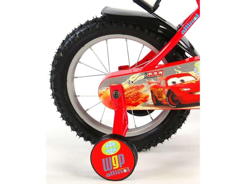 Disney Cars 14 inch jongensfiets rood