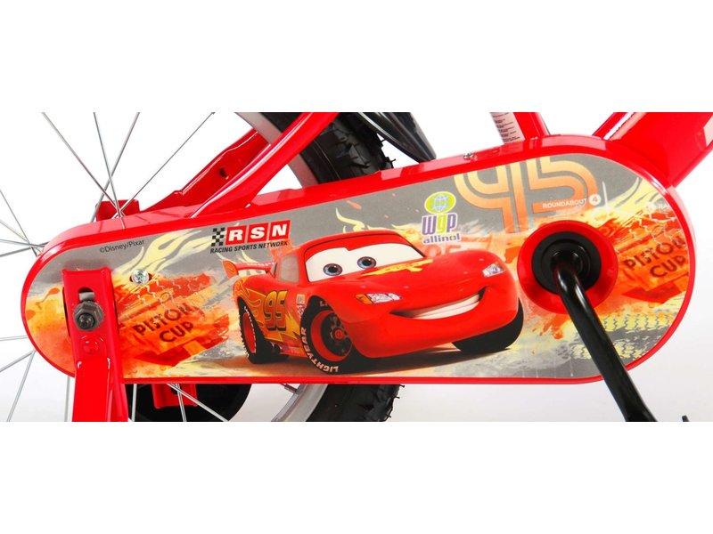Disney Cars 3 Disney Cars 16 inch jongensfiets rood / wit