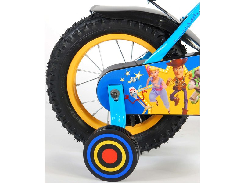 Toy Story Disney 12 inch jongensfiets rood