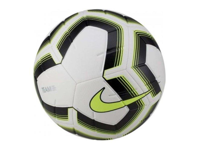 Nike Voetbal Striker Team Maat 5 zwart wit geel
