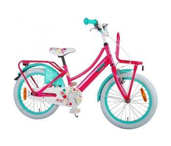 Volare Ibiza 18 inch meisjesfiets roze blauw
