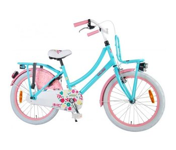 Volare Ibiza 20 inch meisjesfiets turquoise roze