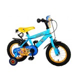 Toy Story Disney 12 inch jongensfiets twee handremmen blauw geel