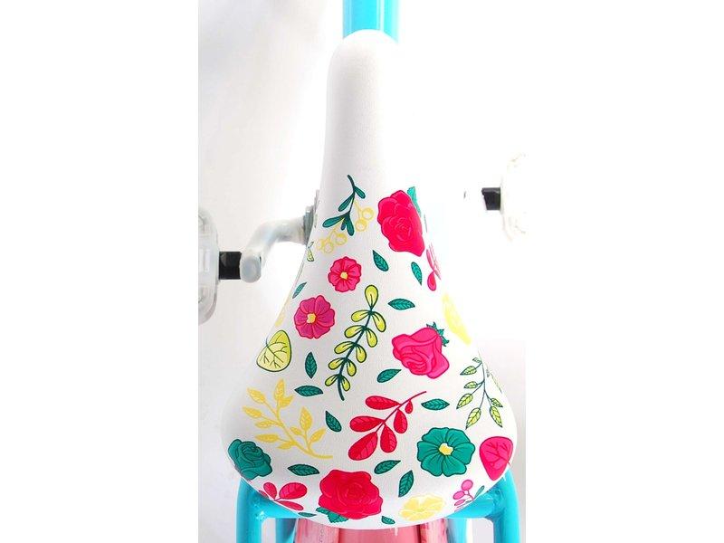 Volare Ibiza 16 inch meisjesfiets turquoise roze