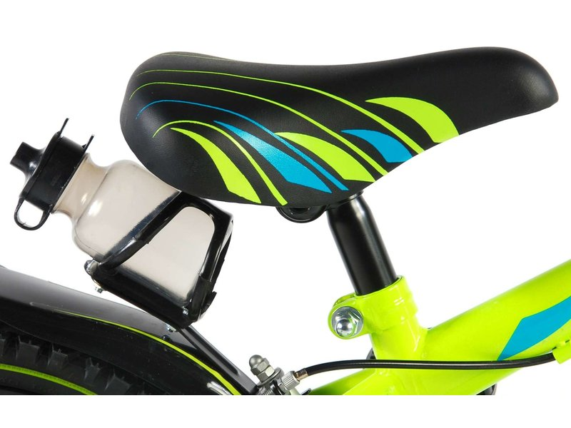 Volare Electric Green 16 inch jongensfiets groen