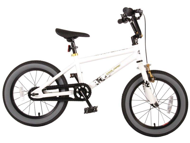 Volare Cool Rider 16 inch jongensfiets wit