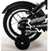 Volare Black Cruiser 12 inch jongensfiets twee handremmen mat zwart