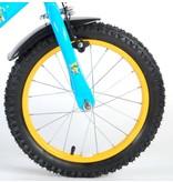 Toy Story Disney 16 inch jongensfiets blauw geel