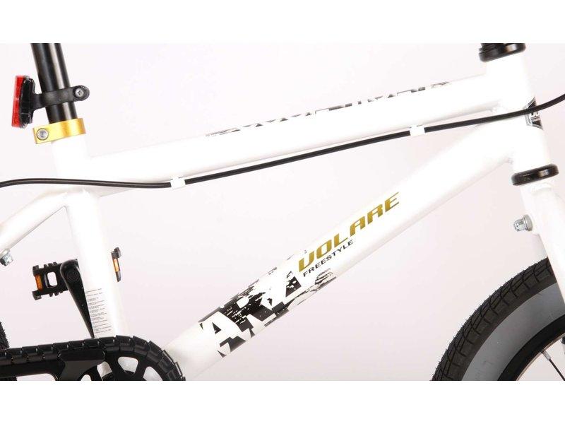 Volare Cool Rider 16 inch jongensfiets twee handremmen wit