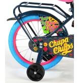Chupa Chups Oma Donker 16 inch meisjesfiets zwart