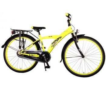 Volare Thombike City 26 inch jongensfiets Shimano Nexus 3 neon geel zwart