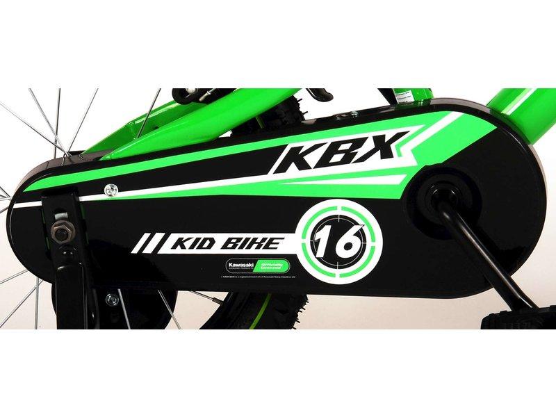 Kawasaki 16 inch jongensfiets groen
