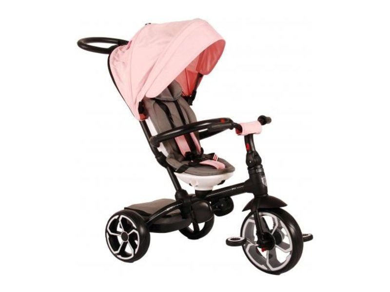 Q-Play Driewieler Prime 4 in 1 driewielers roze
