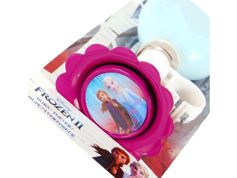 Disney Frozen 2 Fietstoeter licht blauw paars