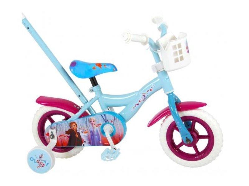 Disney Frozen 2 10 inch meisjesfiets blauw