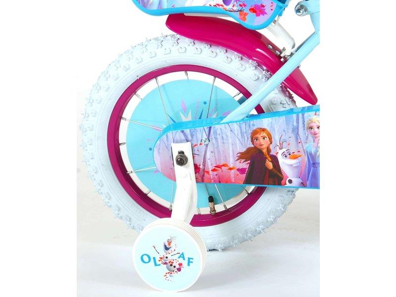 Disney Frozen 2 14 inch meisjesfiets blauw
