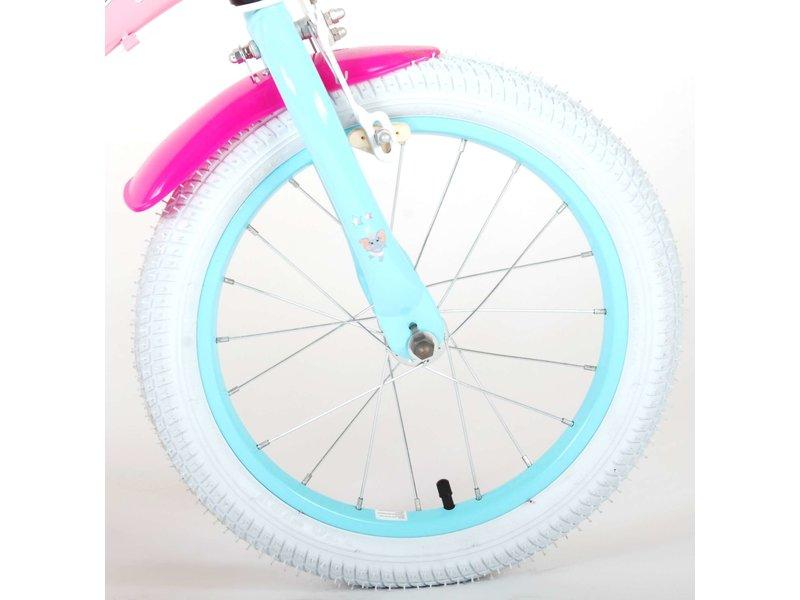 OJO 16 inch meisjesfiets roze blauw