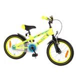 Volare Electric Neon 16 inch jongensfiets geel