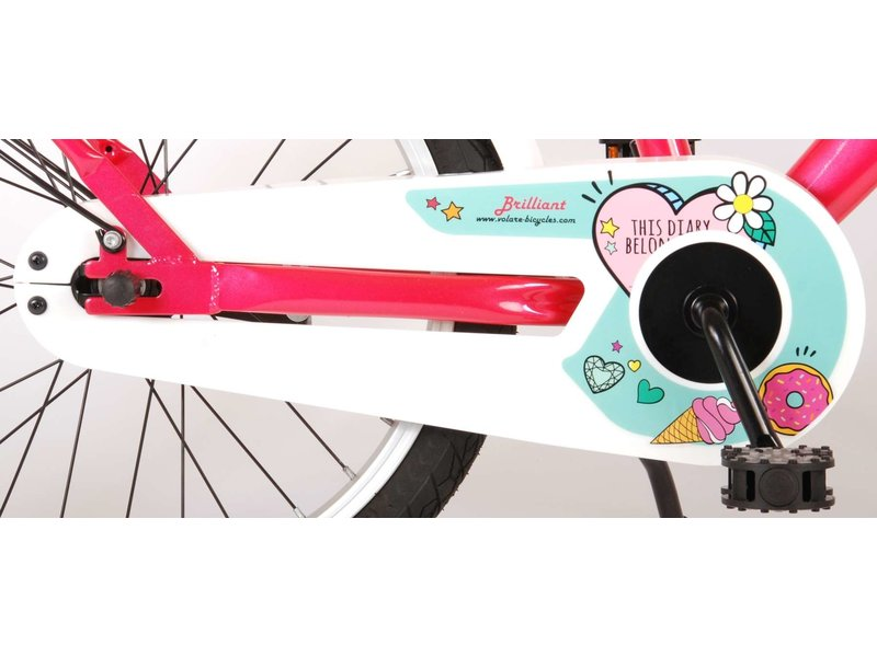 Volare Brilliant 18 inch meisjesfiets roze