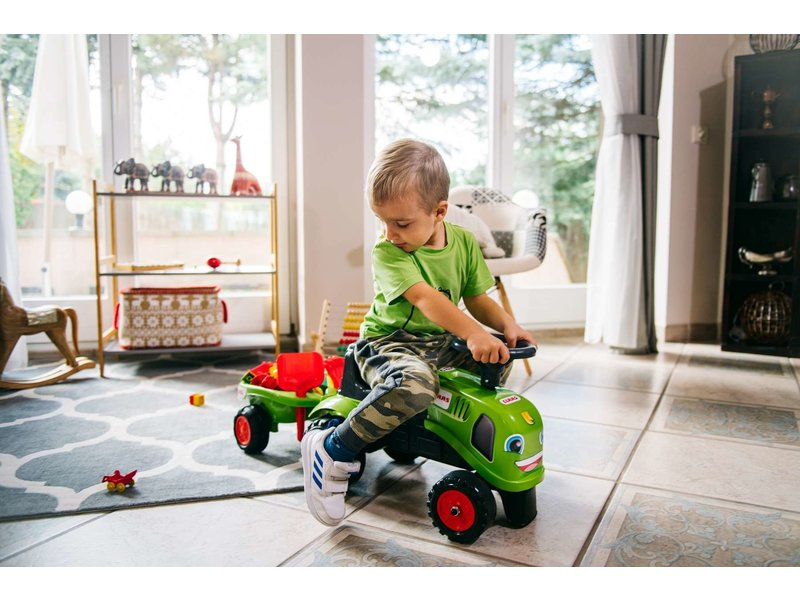 Falk Baby Claas Ride-On Tractor groen
