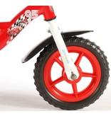Disney Cars 10 inch jongensfiets rood