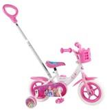 Disney Princess 10 inch meisjesfiets wit / roze